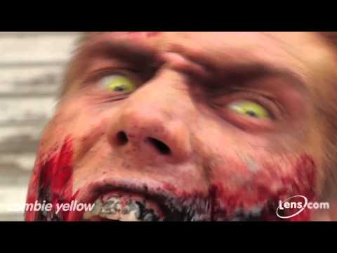 Zombie Yellow Contact Lenses at Lens.com