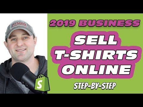 Start A T-Shirt Drop Shipping Business w/ Shopify ✔️ (Print On Demand Tutorial)