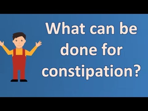 What can be done for constipation ? | Better Health Channel