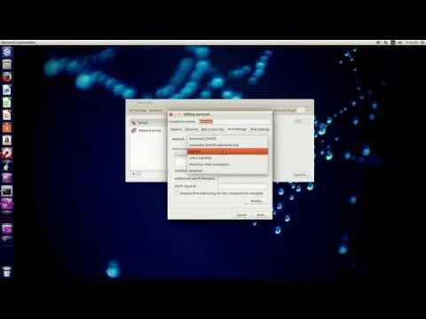 How to change you IPv4 address in Ubuntu