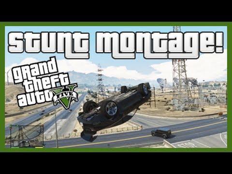 GTA 5: Stunt Montage I!