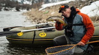 Fly Fishing Float trip in the Water Master Bruin! - Vidly xyz