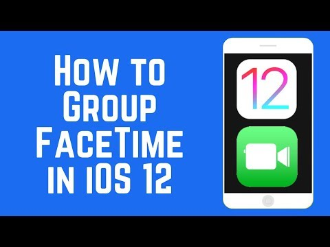 How to Use Group FaceTime on iOS 12 - New Feature!