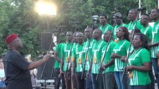World Choir games 2014. Riga. Esplanade. Lagos City Chorale, Nigeria (14.07.2014 no 20.00)