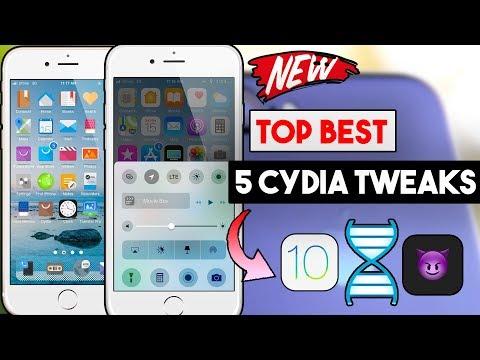 Top 5 Best Cydia Tweaks For (iOS 10 To 10.3.3) iPhone/iPod/iPad (DoubleH3lix / Goblin Jailbreak)