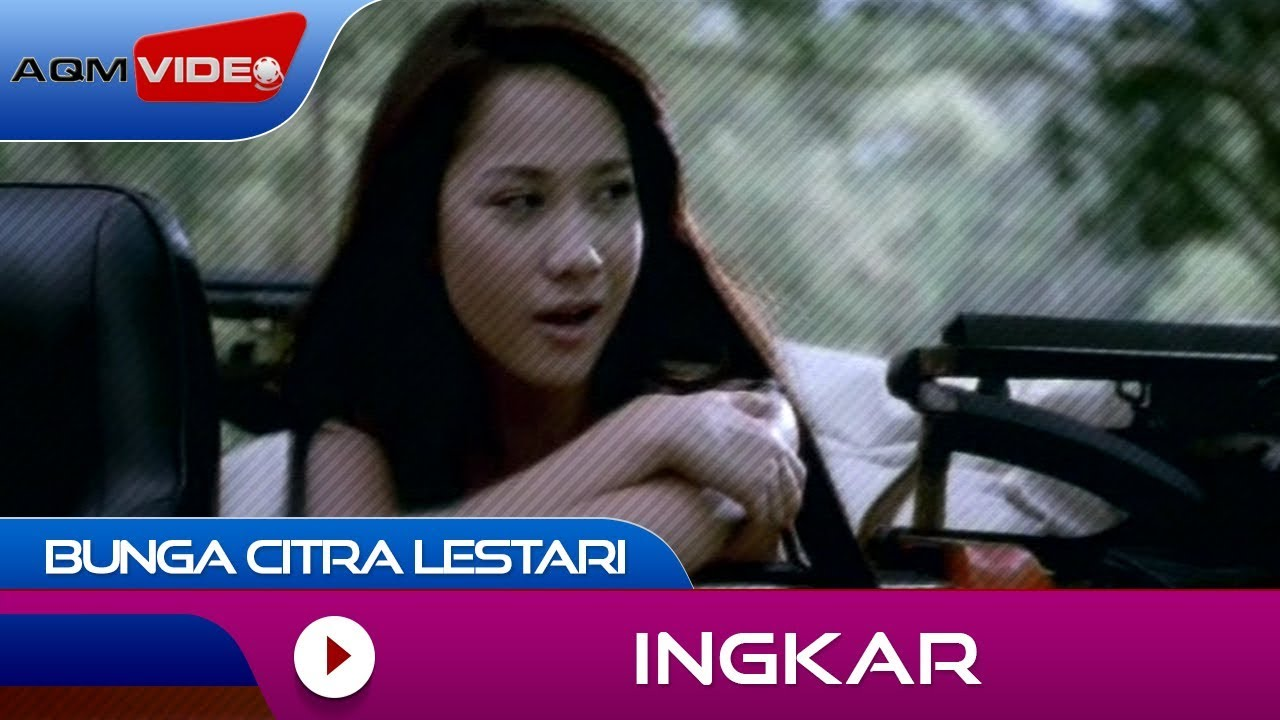 Download Bunga Citra Lestari - Ingkar | Official Video MP3 Gratis