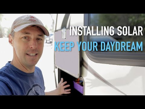 RV Solar Install With Keep Your Daydream (RV Electrical Upgrades)