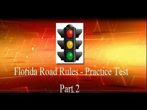 DMV Permit Practice Test in Florida Part 2