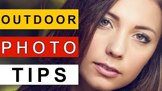 Outdoor Portrait Photography Tutorial: Natural Light Portraiture Sunny Day
