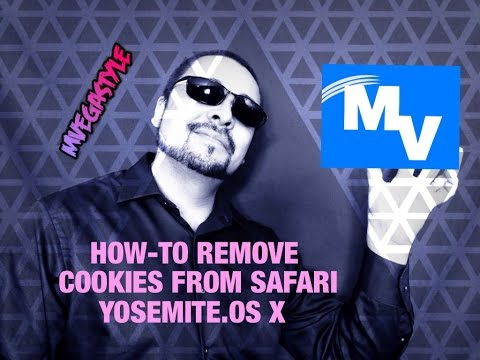 How to remove cookies from Safari on Yosemite OS X