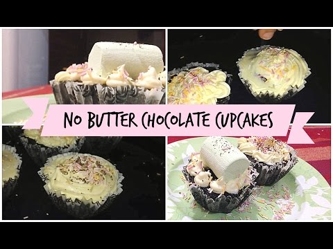 Baking | Easy No Butter Chocolate Cupcakes