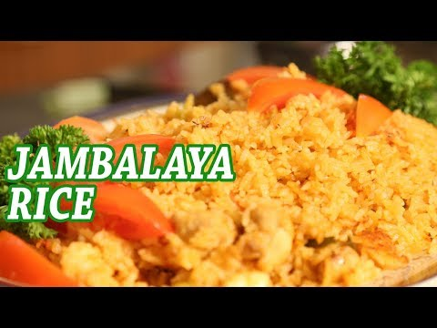 Jambalaya Rice With Prawn And Chicken | Mallika Joseph Food Tube