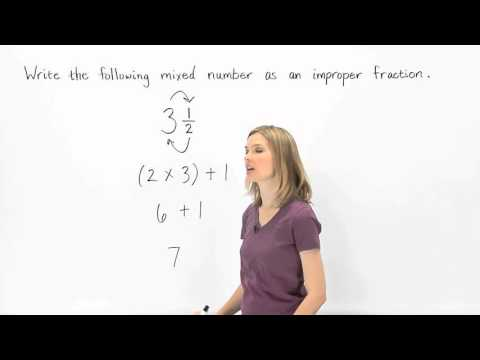 Converting Mixed Numbers to Improper Fractions | MathHelp.com