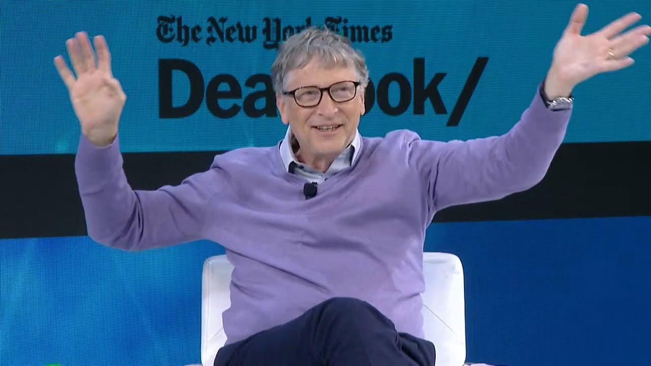 Bill Gates Talks Philanthropy, Microsoft, and Taxes   DealBook