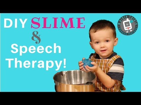 How to Make SLIME | Speech Therapy for Toddlers