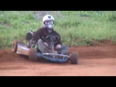 Go kart on dirt