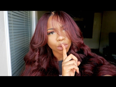 HOW TO DYE MY HAIR WHATEVER COLOR THIS IS FAM .... BURGUNDY|AUBURN|RED