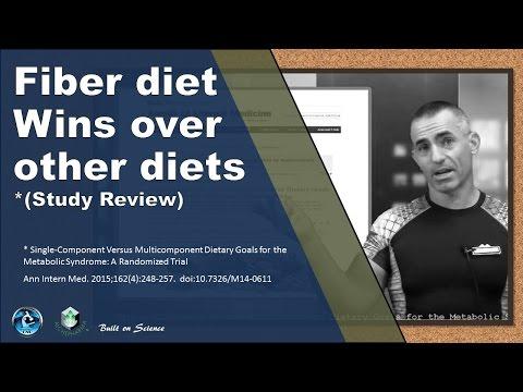 Fiber diet wins over other diets (Study)