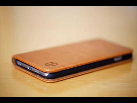 Shieldon Natural Leather Wallet Case (iPhone 6/6s Plus)