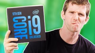 HOW is THIS for Gamers?? - Intel Core i9 9900K