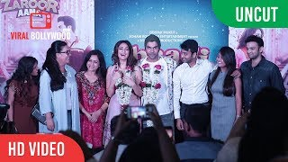 UNCUT - Shaadi Mein Zaroor Aana | Official Trailer Launch | Rajkummar Rao | Kriti Kharbanda