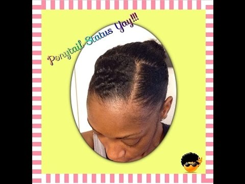 Natural Hair Ponytail within Army Regulation on medium short hair : Army Talk