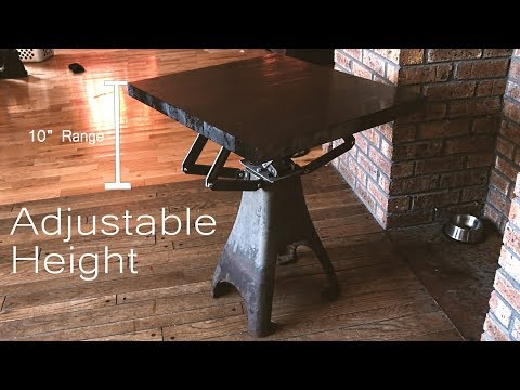 Here's How I Made an End Table That Can Lift a Car