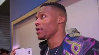 Russell Westbrook describes his emotions after Oklahoma City