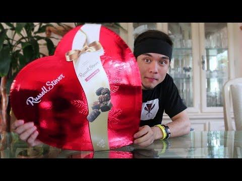 MASSIVE Box of Chocolates CHALLENGE (for valentines day)