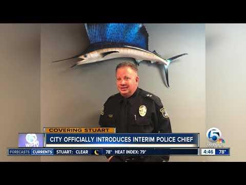 Stuart names interim police chief