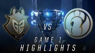 Download IG vs G2 - Worlds Semifinal Match Highlights (2018) Video