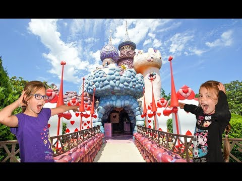 Alice's Curious Labyrinth  Disneyland Paris Attractions