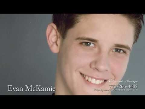 Evan McKamie is represented by Texas Top Talent Agency