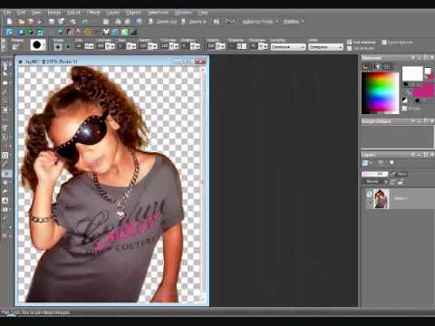 How to make your background white on a picture