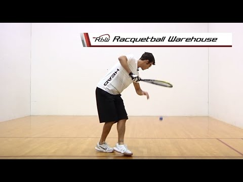 Racquetball Drive Serves