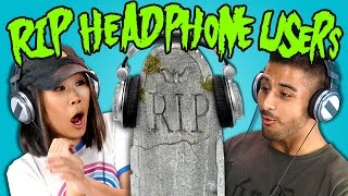Teens React to RIP Headphone Users Compilation