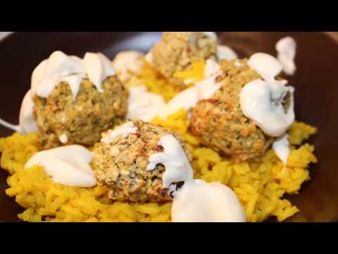 How to Make Falafel - Crispy Fried Garbanzo Bean/Chickpea Fritter Air Fried Recipe