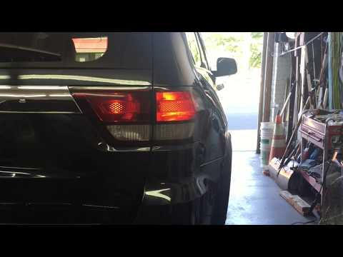 Jeep Grand Cherokee Taillight Removal (includes the lift gate light)