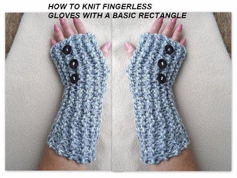 KNITTING PATTERN, Fingerless Gloves, Arm warmers, Beginner level