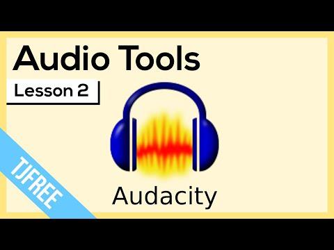 Audacity Lesson 2 - Basic Audio Tools