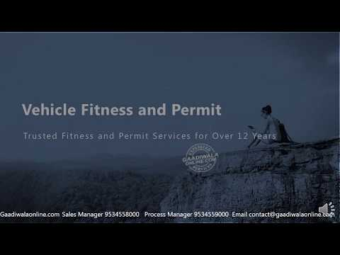 Vehicle Fitness and Permit