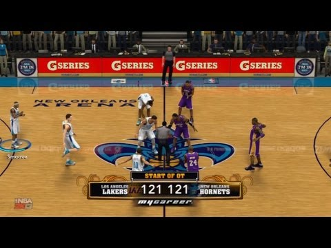 NBA 2K13 My Career - Overtime With The New Look Lakers