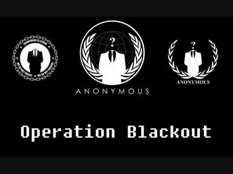 SOPA: Anonymous Launches Operation Blackout