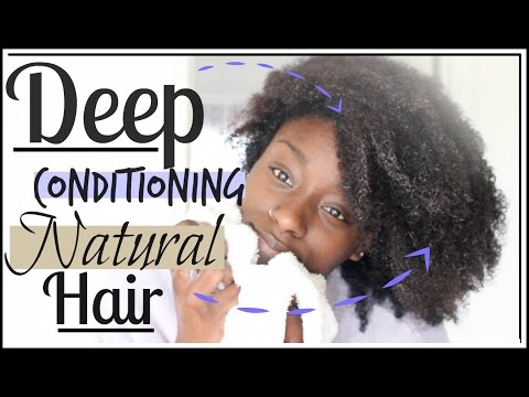 Deep Conditioning Natural Hair | 4a, 4b & 4c Approved
