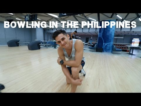 Bowling in the Philippines (foreigners explore Pampanga)