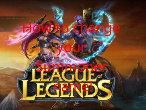 How to transfer server & change name in League of Legens