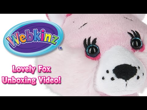 Webkinz Lovely Fox Unboxing - NEW Pet January 2016!