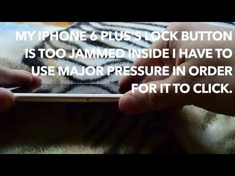 Easiest Fix: ANY iPhone Jammed/Stuck Lock Button/Volume Button