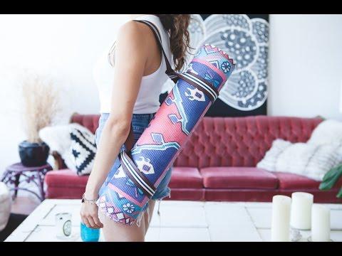 DIY yoga bag strap #2 presented by Magic Carpet