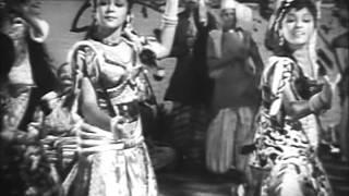 Manthiri Kumari (1950) Travancore Sister Dance - Padmini - Lalitha - Ragini